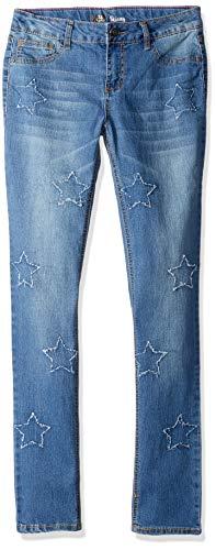 (LEE Girls' Big Fashion Skinny Jean, Star Meadow Blu, 10)