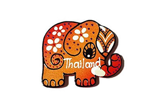 Hot Sale! Thailand Limited Edition Cute Handmade Animal Fridge Magnet for Home Christmas Wedding Decoration (Elephant (New York Theme Dress Up Ideas)