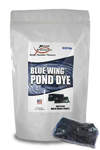 (Blue Wing - Blue Pond Dye Packets - 16 Packets)
