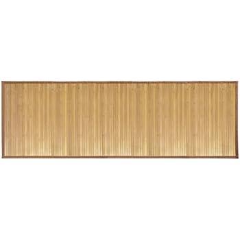Amazon Com Mdesign Water Resistant Bamboo Floor Mat For