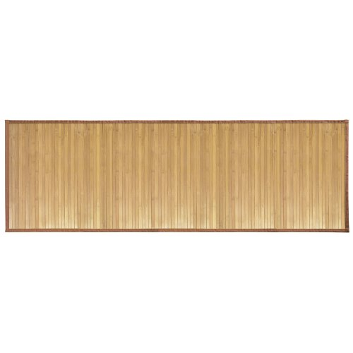 "InterDesign Bamboo Floor Runner – Ideal Mat for Hallways, Kitchen or Office - 24"" x 72"", Natural (Room Essentials Bath Rug)"