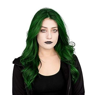 Disney Zombies Classic Eliza Girls Halloween Costume with Makeup Kit Set (Medium 7/8): Clothing