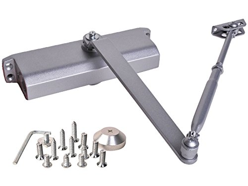 Door Closer Size 4 (Silver) - 7