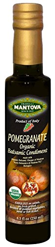 Mantova Pomegranate Organic Balsamic Vinegar of Modena, 8.5 Ounce 41di 2BuK8QyL