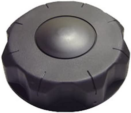 3-1//2 Un-vented Black Nylon Cap
