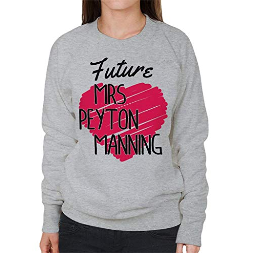 Women's Coto7 Mrs Sweatshirt Manning Peyton Grey Heather Future 4UUqrZI