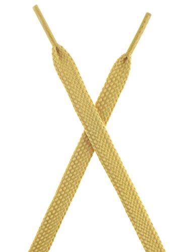 Shoelaces Premium Mshega Athletic Yellow Flat Pair Thick Shoe 2 Laces Sneakers wtFFRdfrq