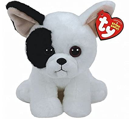 Amazon.com: TY Marcel French Bulldog Beanie Babies 8 inch ...