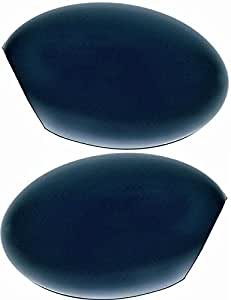 Par de carcasas de retrovisor derecho e izquierdo con pintura base