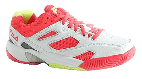 Price comparison product image Fila Kid's Sentinel White Tennis Sneakers 6 M