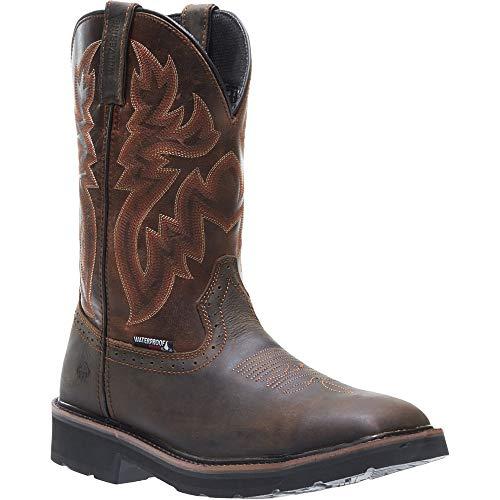 Wolverine Men's Rancher Wpf Soft Toe Wellington Work Boot,Dark Brown,9.5 2E US by Wolverine (Image #3)