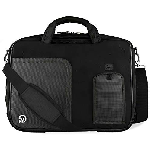 13.3 to 14 Inch Laptop Shoulder Bag Briefcase Fit Lenovo ThinkPad, IdeaPad, Yoga, Asus Vivobook, Zenbook, HP Chromebook, Elitebook, Envy, Essential, Probook, Stream (Hp Laptop Core I3 Price In Philippines)