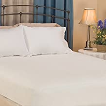 Mattress Pad. Soft, Brushed Polyester Cover With Antimicrobial Fiber Fill Topper Pillow For Deep Healthy Sleep. Washable, Durable, Protects Bed From Allergens, Stains, Dirt, Dust & Wetness. (Twin)