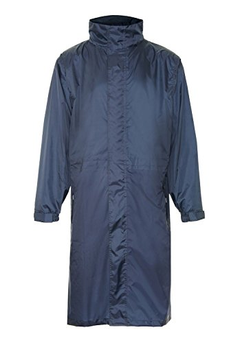 i-Smalls Men's Storm Breathable Long Waterproof Raincoat ...