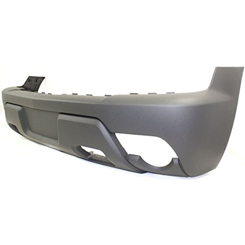 Diften 105-A7619-X01 - New Bumper Cover Facial Front Raw - textured Avalanche Chevy GM1000680C 12335679