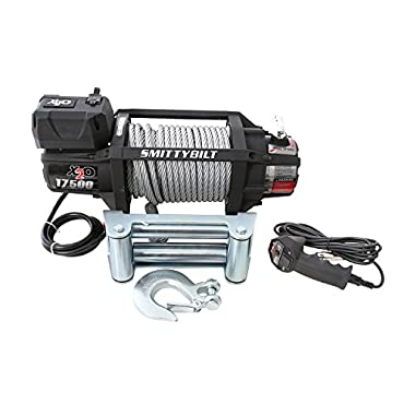 Smittybilt 97517 X2O Gen2 17500 Pound Universal Waterproof Wireless Truck Winch