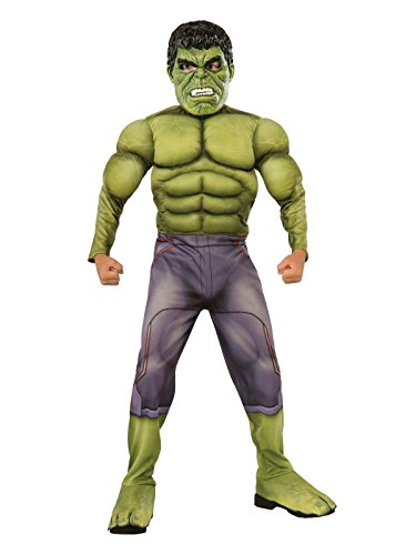 Marvel Child Costumes (Thor: Ragnarok Deluxe Hulk Child's Costume, Medium)