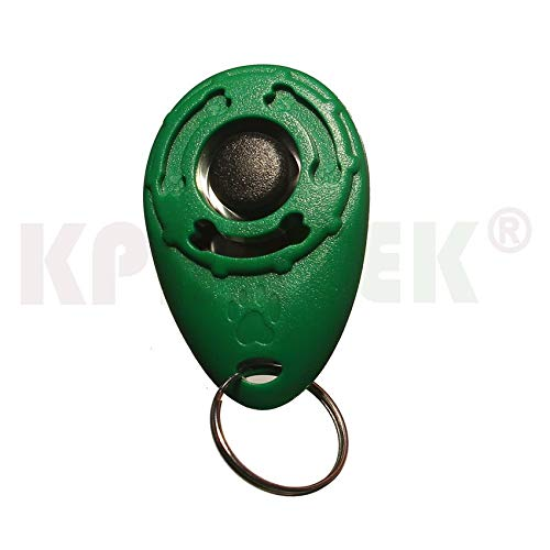 Dog Training Clicker - 50 PCS Pet Dogs Training Clicker Crisp and Easy to Carry Strap Design