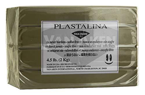 (Van Aken Plastalina Non-Hardening Modeling Clay 4.5 Lb. Sculpture)