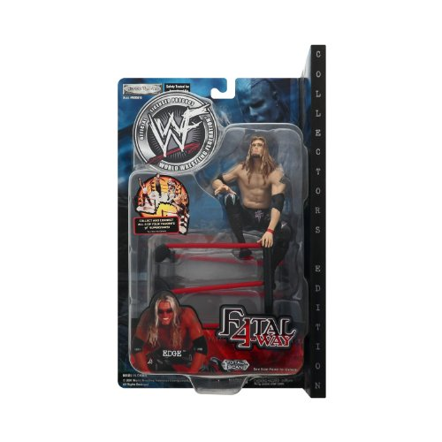 Edge Wwe Wwf Jakks Pacific Fatal 4 Way Toy Figure