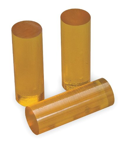 3M Scotch-Weld 3779TC Hot Melt Adhesive, 11 lbs Container, 2'' Length x 5/8'' Width, Amber
