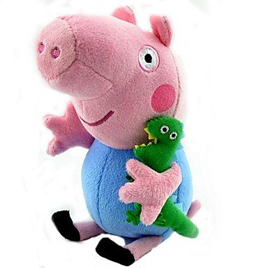 QHY Peppa Pig George Stuffed Toy Plush Doll