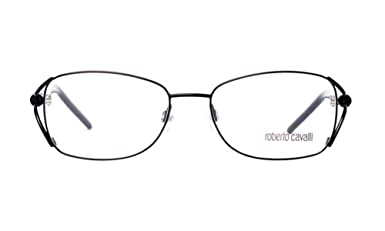 07d95770c9f Amazon.com  Roberto Cavalli Eyeglasses RC619 Bocca De Leone 001 Size 52  Black Palladium 619  Clothing