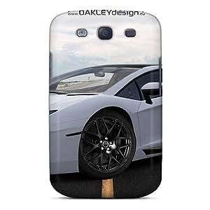 Premium Oakley Design Lamborghini Aventador Back Cover Snap On Case For Galaxy S3