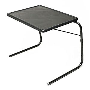 Amazon Com Table Mate Xl Tv Tray Table Black Kitchen