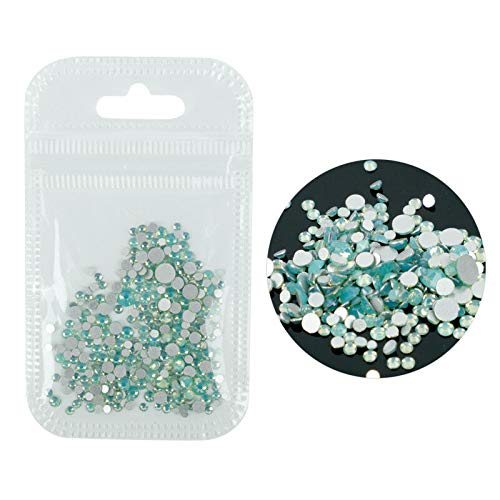 Manicure Crystal Colorful Opal Nail Art Rhinestone Decorations Glitter Gems (Color - -