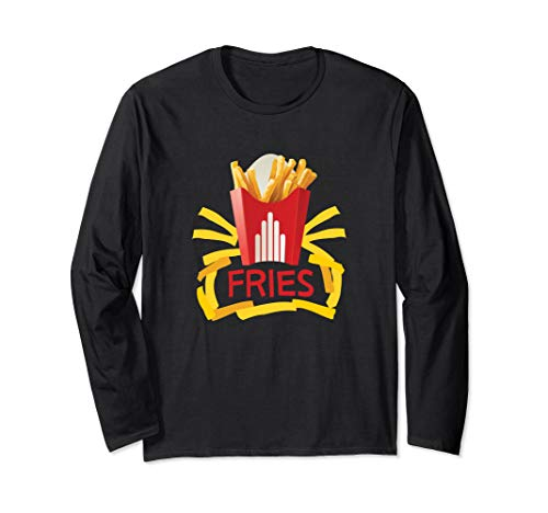 French Fries Halloween Costume Long Shirt Groups Add Burger ()