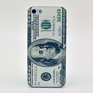 GONGXI-Patrón Dólar duro caso para iPhone 5/5S
