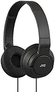 JVC HAS-180 Lightweight Powerful Bass Headphones - Black
