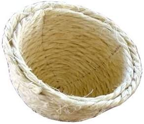 PCMOVILES 5 X nidos de Pita grandes para jaula de canarios y otras pequeñas aves