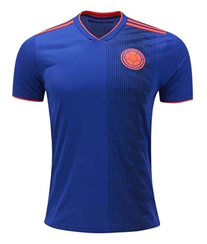 Colombia National Soccer Team 2018 Away Soccer Jersey Size M