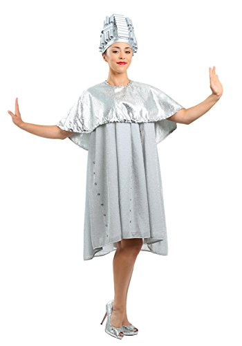 Grease Beauty School Dropout Womens Costume Medium Dusty Blue ()
