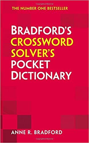 Collins Bradford???s Crossword Solver???s Pocket Dictionary by Anne R. Bradford (2014-09-01)
