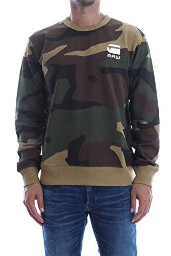 Reqal Stalt Homme G Vert Sweat Camouflage star q48AFH