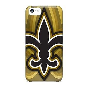 JasonPelletier Iphone 5c Shockproof Hard Phone Cases Provide Private Custom Stylish New Orleans Saints Image [JLn7542ACku]