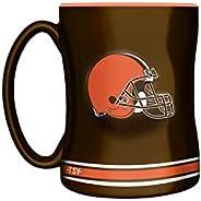 NFL Cleveland Browns Sculpted Mug, 14-Ounce