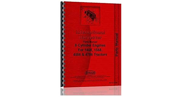 International Harvester DV550B Engine Parts Manual IH-P-DV550B