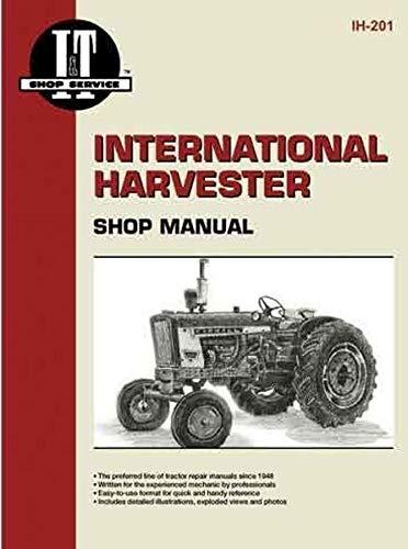 International Harvester 240 Tractor Service Manual (IT Shop) by Jensales