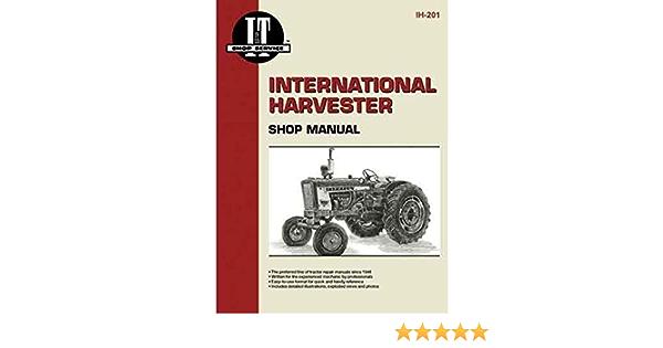 FARMALL INTERNATIONAL 100 130 140 TRACTOR SERVICE MANUAL PARTS CATALOG SHOP BOOK
