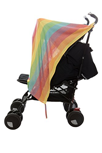 Henry And Bros. Baby Blankets For Boys/Baby Blankets For Girls, Newborn Baby Blanket, Made Of 100% Cotton (Rainbow Burst)