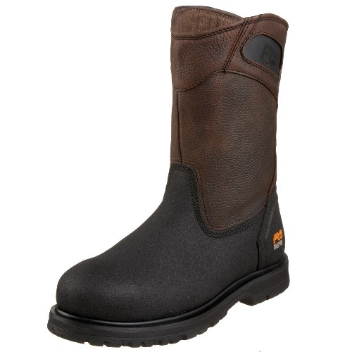 Men Wellington Boots - Timberland PRO Men's 53522 Powerwelt Wellington Boot,Rancher Brown,11 M