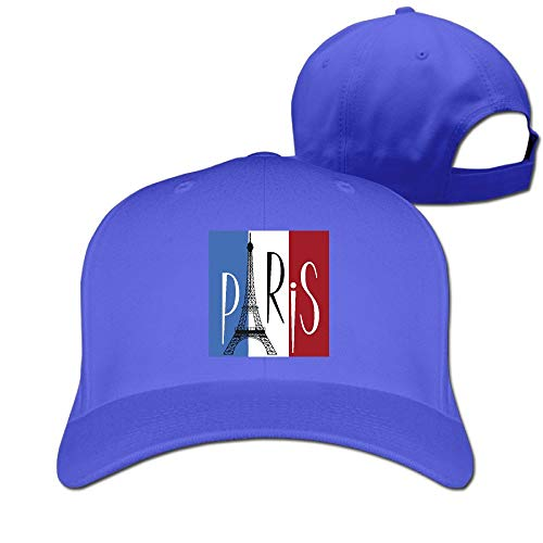 - MMKOBD8D Eiffel Tower Over Flag France Unisex Pure Color Baseball Cap Classic Adjustable Dad Hat