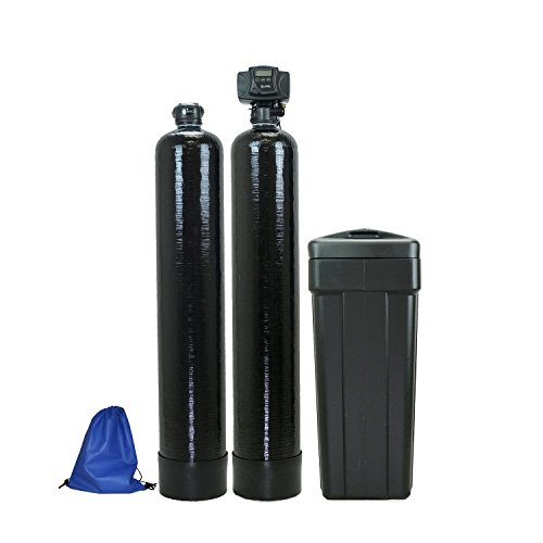 ABCwaters built Fleck 5600sxt 48,000 Water Softener with Upflow Carbon Filtration (10%)