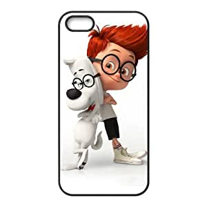 mr peabody and sherman iPhone 4 4s Cell Phone Case Black xlb2-318749