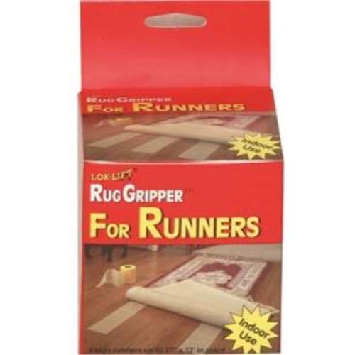 Optimum Technologies Lok Lift Rug Gripper for Runners, 4 Inch by 25 Feet. The original slip resistant rug solution -