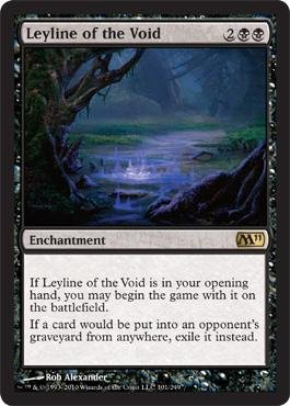 Magic: the Gathering - Leyline of the Void - Magic 2011
